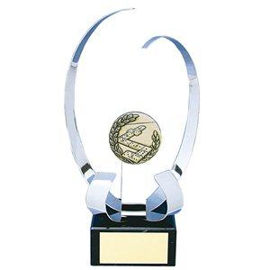 Trofeo portacentro  Sin Alegoría varios tamaños.  Ref - BP142