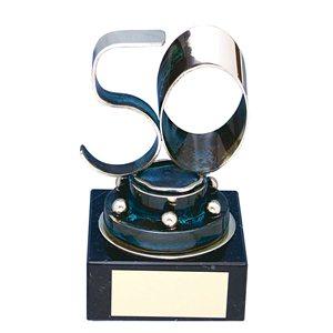 Trofeo pastel 50 aniversario  varios tamaños.  Ref - BP1