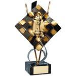 Trofeo ajedrez  varios tamaños.  Ref - BP315