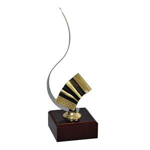 Trofeo Detalle Música Acordeón Con Asa  varios tamaños.  Ref - BP3557