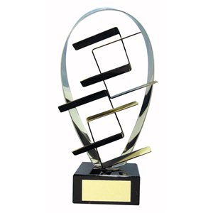 Trofeo artístico  varios tamaños.  Ref - BP396