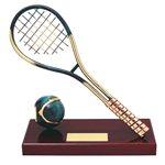 Trofeo Tenis Raqueta  varios tamaños.  Ref - BP418