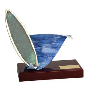 Trofeo surf  varios tamaños.  Ref - BP460