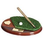 Trofeo bate béisbol  varios tamaños.  Ref - BP473