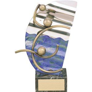 Trofeo waterpolo  varios tamaños.  Ref - BP819
