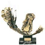 Trofeo alegórico  varios tamaños.  Ref - BP912