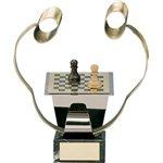 Trofeo ajedrez  varios tamaños.  Ref - BP988