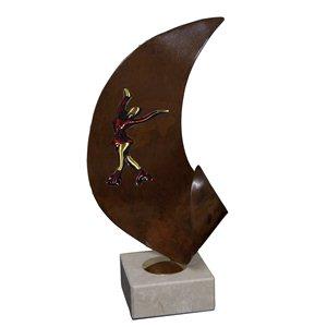 Trofeo G-Series Patinaje Artístico  varios tamaños.  Ref - BPG09222