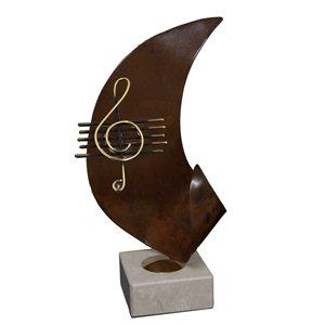 Trofeo G-Series Música  varios tamaños.  Ref - BPG09256