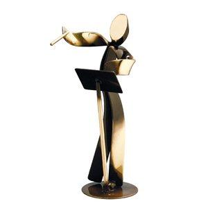 Trofeo deportivo 17 cm  para Música varios tamaños.  Ref - BP901/1MU