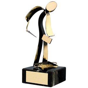 Trofeos para oficios -profesiones, Tamaño 16 cm BP 306/1 Albañ